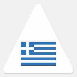 Greece – Greek Flag Triangle Sticker