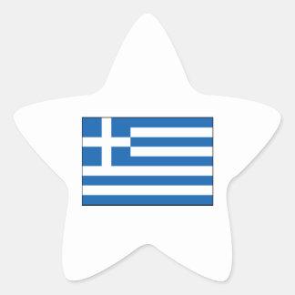 Greece – Greek Flag Star Sticker