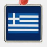 Greece – Greek National Flag Christmas Tree Ornament