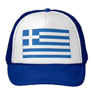 Greece – Greek National Flag Trucker Hat