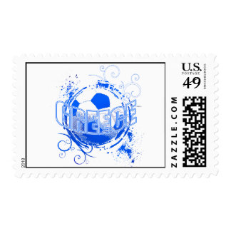 Greece grunge Soccer Ball T-shirts and gifts Postage