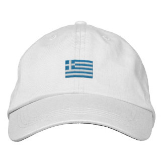 Greece Hat - ΕΛΛΑΣ! Embroidered Hats