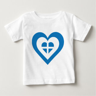 Greece Heart Baby T-Shirt