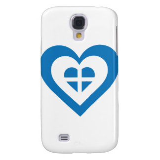 Greece Heart Samsung Galaxy S4 Case