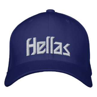 Greece - Hellas Embroidered Baseball Cap