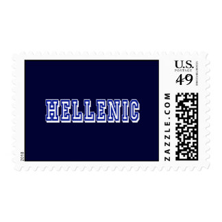 Greece Hellenic Logo gifts Stamps