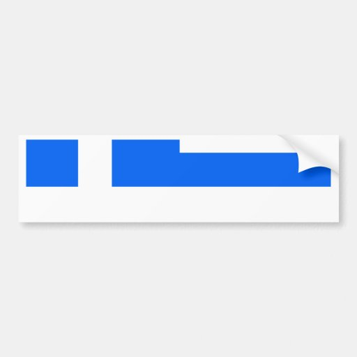 Greece High quality Flag Bumper Stickers
