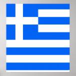 Greece High quality Flag Poster