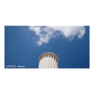 GREECE I athens Custom Photo Card
