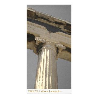 GREECE I athens I acropolis Custom Photo Card