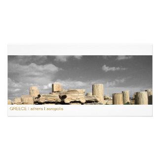 GREECE I athens I acropolis Customized Photo Card