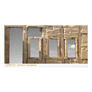 GREECE I athens I acropolis Photo Card Template