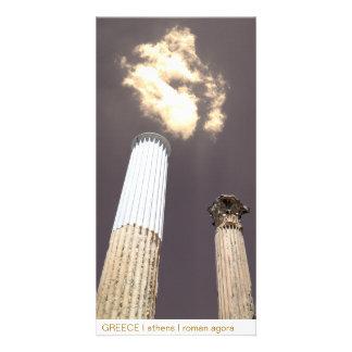 GREECE I athens I roman agora Photo Greeting Card