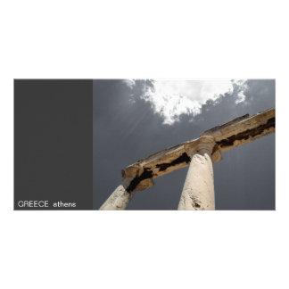 GREECE I athens Photo Card Template