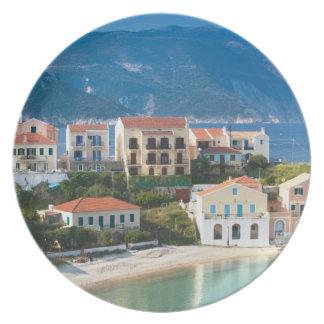 GREECE, Ionian Islands, KEFALONIA, Assos: 2 Melamine Plate