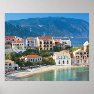 GREECE, Ionian Islands, KEFALONIA, Assos: 2 Poster