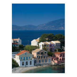 GREECE, Ionian Islands, KEFALONIA, Assos: Postcard