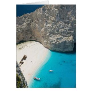 GREECE, Ionian Islands, ZAKYNTHOS, SHIPWRECK Cards