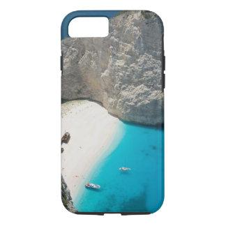 GREECE, Ionian Islands, ZAKYNTHOS, SHIPWRECK iPhone 7 Case