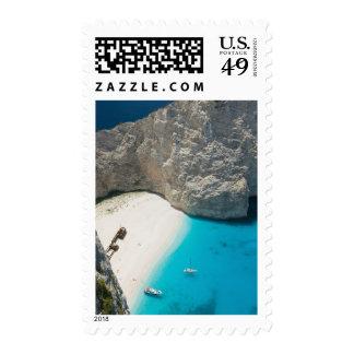 GREECE, Ionian Islands, ZAKYNTHOS, SHIPWRECK Postage Stamp