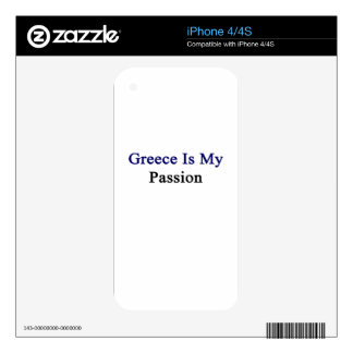 Greece Is My Passion Skins For iPhone 4
