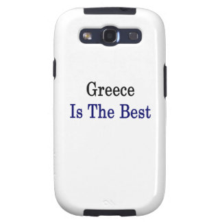 Greece Is The Best Galaxy SIII Cover