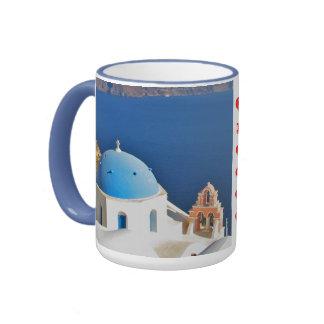 Greece Island Mug