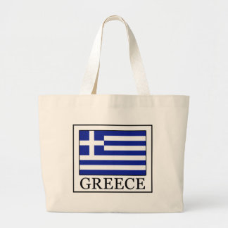 Greece Large Tote Bag