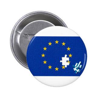 Greece leaves European Union Pins