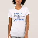 Greece Lightning Tee Shirts