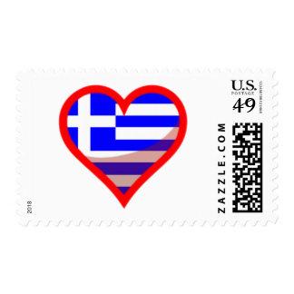 Greece Love Postage