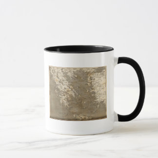 Greece Map by Arrowsmith Mug