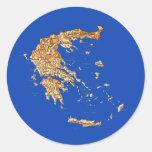 Greece Map Sticker