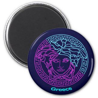 Greece Medusa Magnets