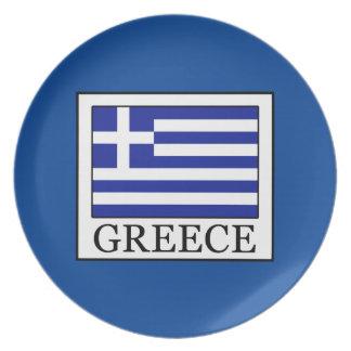 Greece Melamine Plate