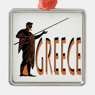 Greece Metal Ornament