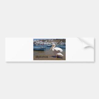 Greece Mykonos PETROS  (St.K) Bumper Sticker