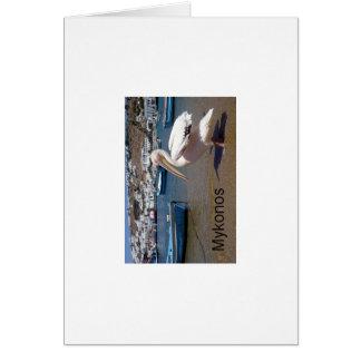Greece Mykonos PETROS  (St.K) Card
