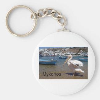 Greece Mykonos PETROS  (St.K) Keychain