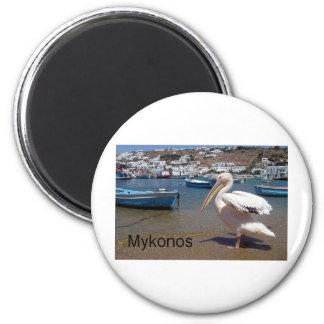 Greece Mykonos PETROS  (St.K) Magnet