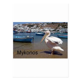 Greece Mykonos PETROS  (St.K) Post Card