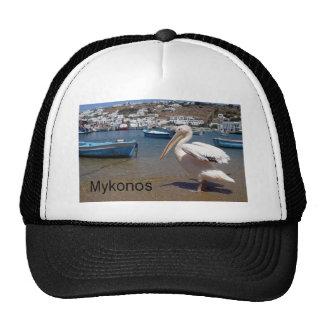 Greece Mykonos PETROS  (St.K) Trucker Hat