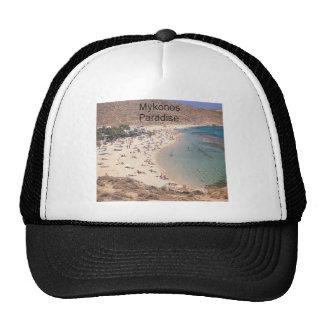 Greece Mykonos Super Paradise (St.K) Trucker Hat