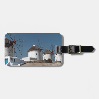 Greece Mykonos Windmills (Aggel) Bag Tag