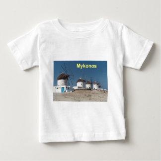 Greece Mykonos Windmills (Aggel) Tee Shirt