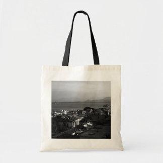Greece Nafplion beach 1970 Tote Bag