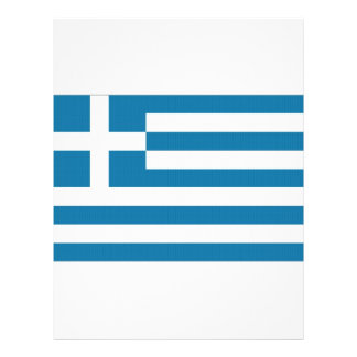 Greece National Flag Flyer