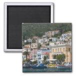 GREECE, Northeastern Aegean Islands, SAMOS, 2 Inch Square Magnet