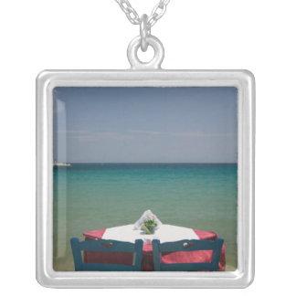 GREECE, Northeastern Aegean Islands, SAMOS, 2 Silver Plated Necklace