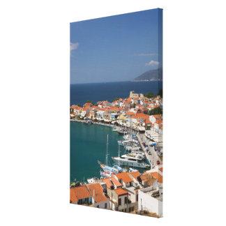 GREECE, Northeastern Aegean Islands, SAMOS, 3 Canvas Print